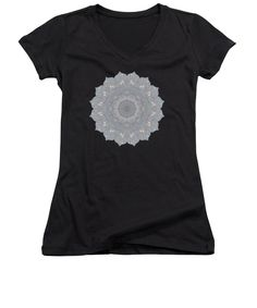Our women's v-necks are made from 100% pre-shrunk cotton and are available in five different sizes. All women's v-necks are machine washable. SHIPS WITHIN: 1-2 business days. Designs are available on Men's T-Shirts (Athletic, Regular, Premium, V-Neck), Women's T-Shirts (Athletic, Standard, V-Neck), Sweatshirts, Heathers T-Shirts, Long Sleeves, Baseball, Tank Tops, Youth, Kids, Toddler, and Baby Onesies #apparel #TShirts #reiki #crystals #geometric #patterns #kaleidoscopes #mandalas #abstract