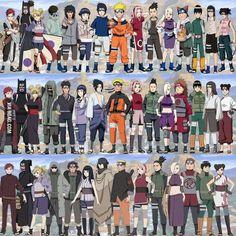 Evolution. Naruto