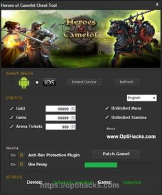 Heroes of #Camelot #Hack  Join the best within the shortest time!  Get it now-> https://optihacks.com/heroes-of-camelot-hack/