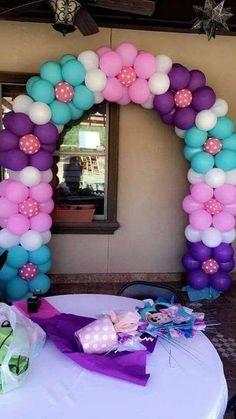 Balloon Crafts, Birthday Balloon Decorations, Birthday Balloons, Baby Shower Decorations, Balloon Columns, Balloon Arch, Balloon Garland, Unicorn Birthday Parties, Unicorn Party