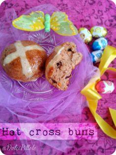 Hot cross buns! Per una #Pasqua all'inglese! #hotcrossbuns