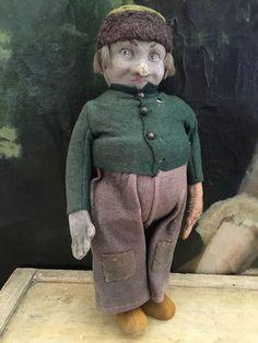 1920s Antique SUPER RARE Lenci Fisherman Character Doll Series 101/102  AR241