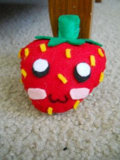 Strawberry Plush I've made for myself.