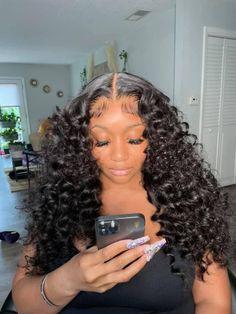Black Girl Braided Hairstyles, Baddie Hairstyles, Weave Hairstyles, Pretty Hairstyles, Protective Hairstyles, Protective Styles, Curly Hair Styles, Natural Hair Styles, Wig Styles
