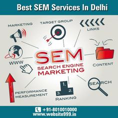 #SEM Services In #DelhiNCR, #India - #Website999 helps in improving the #visibility of your #business online, increase #traffic for your #product & #services. To know more visit @ http://ow.ly/JetFC