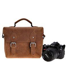 ZLYC Handmade Small DSLR Camera Bag / Satchel / Messenger Bag - Two in One - Vintage Retro Look ZLYC http://www.amazon.co.uk/dp/B0176CQ7LK/ref=cm_sw_r_pi_dp_rQwvwb1BKE7BF