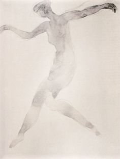 Auguste Rodin dancer