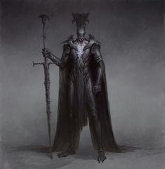 "scifi-fantasy-horror: ""by Bogdan Rezunenko "" Fantasy Armor, Medieval Fantasy, Dark Fantasy Art, Fantasy Character Design, Character Art, Dark Spirit, Horror Artwork, Dungeons And Dragons Homebrew, Arte Horror"