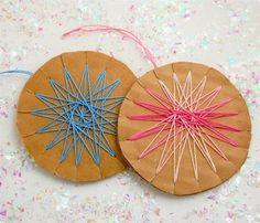 Religious Snowflake Crafts