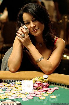 Jennifer Tilly by crittergambler, via Flickr... Celebrity Poker Champ