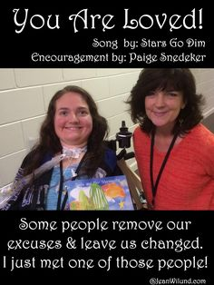 No matter what you're facing, let this truth comfort you: You are Loved. Listen to Stars Go Dim and learn about an amazing mouth artist and author, Paige Snedeker