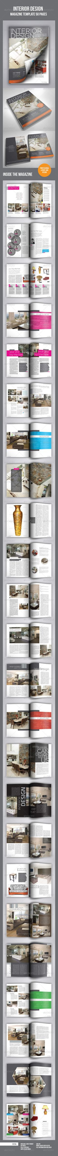 A4 50 Pages mgz (Vol. 2) — InDesign INDD #fashion #universal • Available here → https://graphicriver.net/item/a4-50-pages-mgz-vol-2/2860840?ref=pxcr