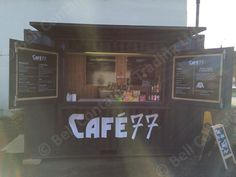 popup container cafe and food unit outlet