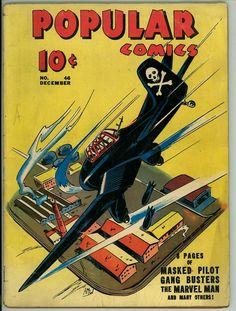 Popular Comics 46 (VG- 3.5)