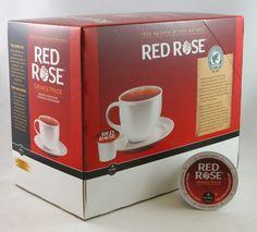 Red Rose Tea k-cups