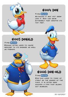 Esse ilustrador imaginou personagens da Disney como Pokémons com suas evoluções • Designerd