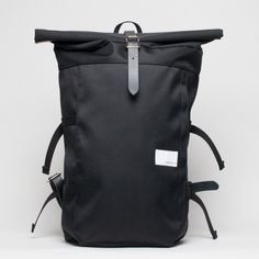A sleek black bag that's as stylish as it is functional