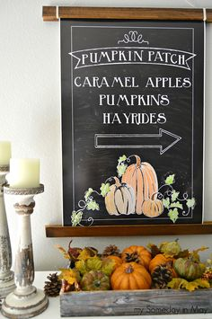 Thank you so much for stopping by here on our tour of Free Printables and Fall Vignettes! I've got to thank Kristen from Ella Claire In...