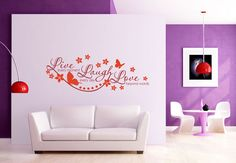 Wall-Stickers - Live every Moment