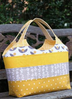 Friday Spotlight: Kirsty's Big Patchwork Tote — SewCanShe | Free Daily Sewing Tutorials