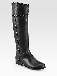 Tory Burch Mae Leather Riding Boots - I am IN LOVE with these!!!