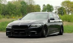 Black BMW F11 Touring