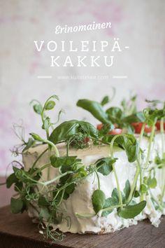 lohivoileipäkakku | voileipäkakku | juhla | tarjoilu | juhlatarjoilu Salty Snacks, Paper Crafts, Plants, Food, Plating, Entertainment, Drinks, Art, Art Background