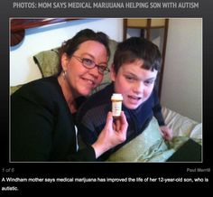 Maine Mom Fights Son's Autistic Episodes With Marinol | Marijuana.com