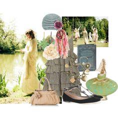 English Garden, created by eraserqueen on Polyvore