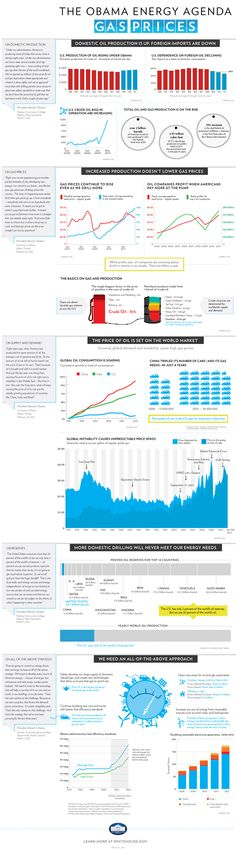 The Obama Energy Agenda: Gas Prices Infographic, http://www.DAMNGasPrices.com