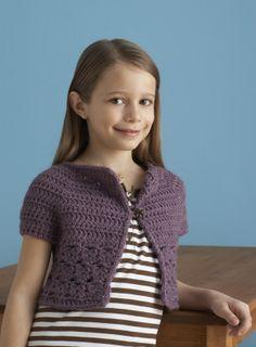 Free Crochet Pattern: Bebop Cardi