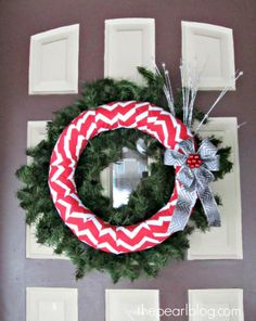 christmas red wreath