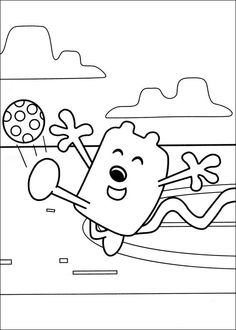 Pin by Colouring Books on Wow Wow Wubbzy | Pinterest