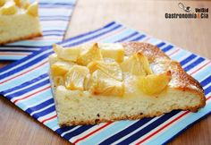 Gastronomía and Cía - Coca fácil de manzana