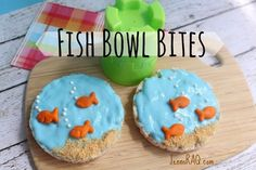 Fish Bowl Bites Preschool Snack from JennsRAQ.com