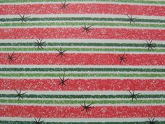 Vintage Christmas Wrapping Paper  Atomic by TheGOOSEandTheHOUND