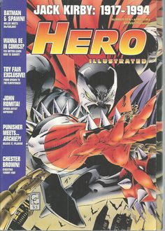 Hero Illustrated Magazine Price Guide Comic Books No 10 April 1994 Jack Kirby