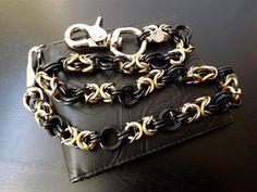 Wallet Chain Biker Chain Handmade Chain Black by JSWALLETCHAINS