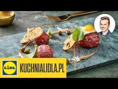 TATAR na dwa sposoby 🍗   Karol Okrasa & Kuchnia Lidla - YouTube Kaito, Meat, Youtube, Food, Essen, Meals, Youtubers, Yemek, Youtube Movies