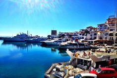 Puerto Banús i Marbella, Andalucía