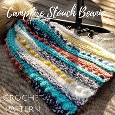 Your place to buy and sell all things handmade Scrap Yarn Crochet, Crochet Hooks, Crocheted Hats, Slouch Beanie Crochet Pattern, Hat Crochet, Free Crochet, Loom Patterns, Crochet Patterns, Crochet Ideas