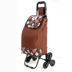 Amazon.com - Stair Climbing Rolling Folding Shopping Grocery Laundry Utility Cart - Wheeled Laundry Hampers