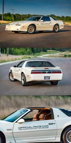 1989 Pontiac Trans Am Indy Pace Car. Low Miles, One of 1555 Built! Collector Cars For Sale, Trans Am, 30 Years Old, Time Capsule, Old Cars, Muscle Cars, Ali, Indie, Building