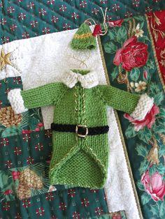 Ravelry: Buddy the Elf Sweater & Hat pattern by Kriste Bee
