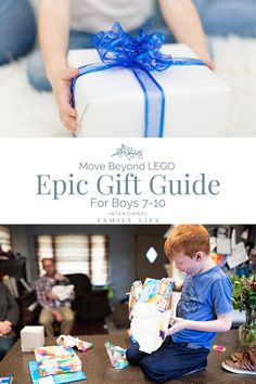 Epic Gift Guide for Boys Ages - beyond LEGO! Cool Gifts For Kids, Gifts For Dad, Baby Gifts, Positive Parenting Solutions, Good Parenting, Activities For Boys, The Ultimate Gift, Customizable Gifts, Graduation Gifts