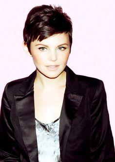 Ginnifer Goodwin. She is so damn gorgeous with short hair.
