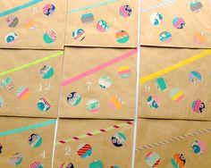 Omiyage Blogs: DIY: Washi Tape Dots