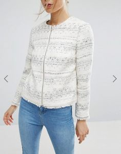 ASOS Women Spring Jackets 2017 – Must Haves  get the look ASOS Boucle  Jacket with c360fe167c0