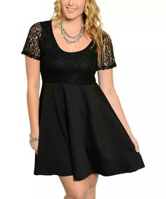 So cute! Fit & flare lace