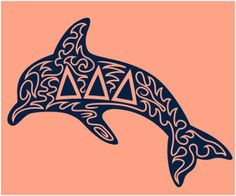 Just LOVE this Delta dolphin!